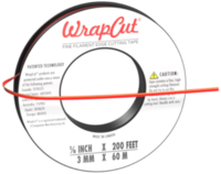 WrapCut 3mm x 60m (rot)